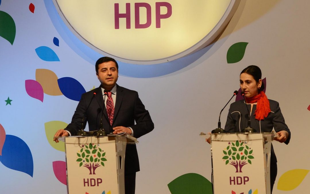 Pro-Kurdish HDP boycotts parliament after co-chairs, deputies arrested