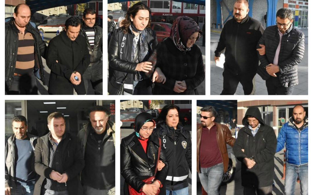 TURKEY PURGE IN PAST 48 HOURS: 154 arrested, 197 others detained over coup charges