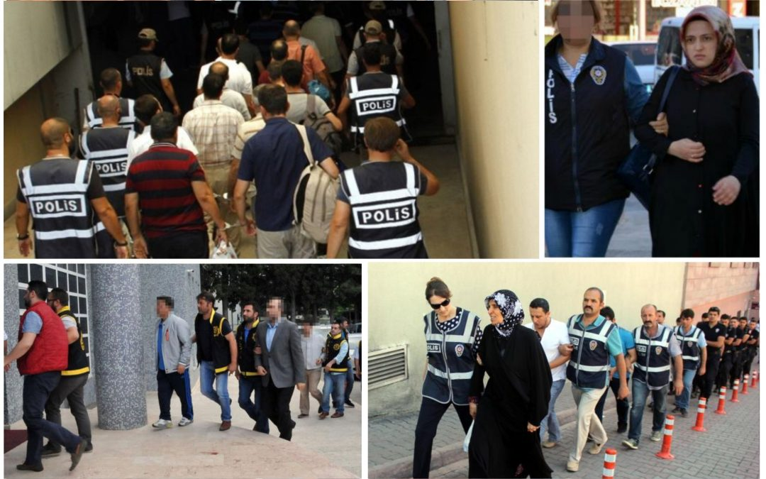 TURKEY PURGE IN PAST 48 HOURS: 111 arrested, 180 others detained over coup charges
