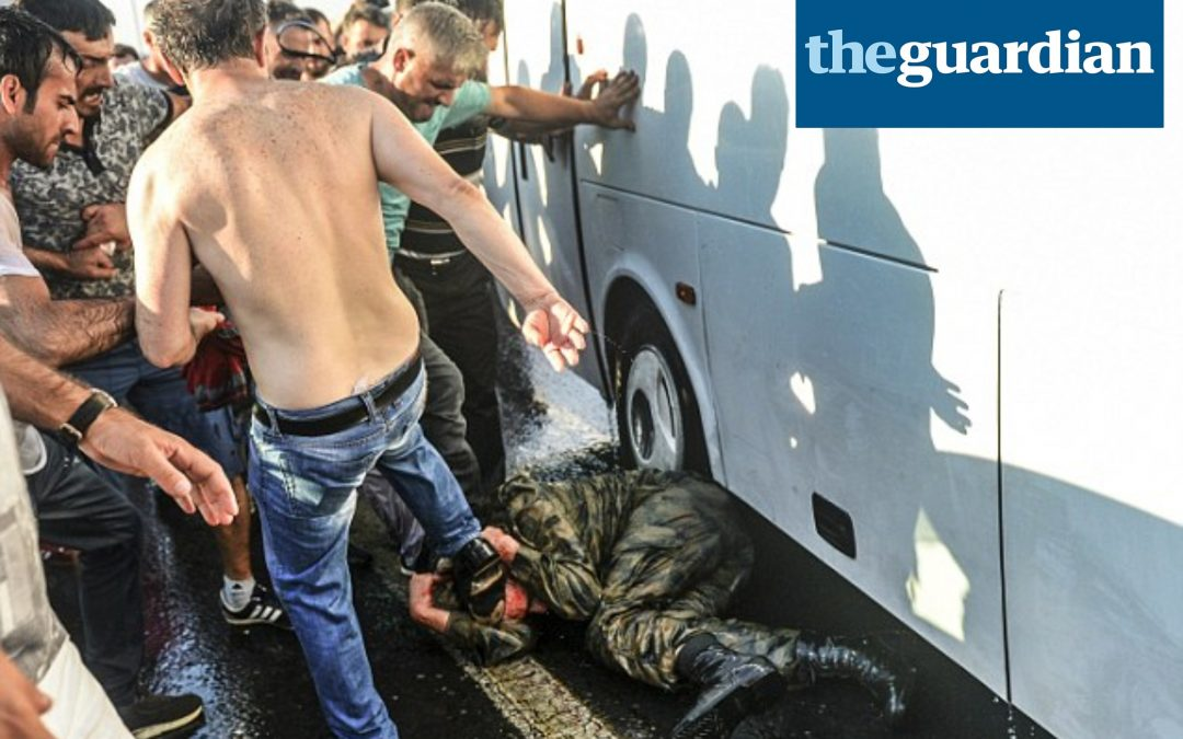 The Guardian Editorial: 'Post-coup crackdowns in Turkey are wrong'
