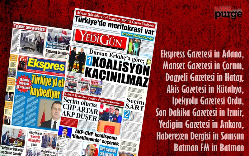 Turkey shuts down 9 more newspapers, bringing total to 195
