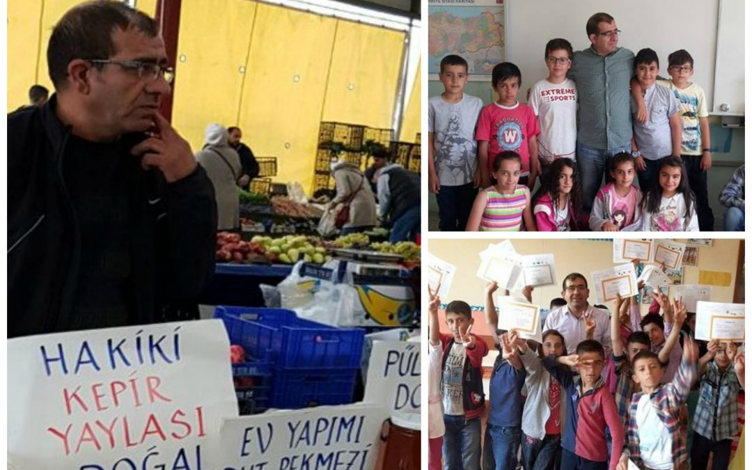 Dismissed in Turkey's post-coup purge, teacher of 29 years selling food for living