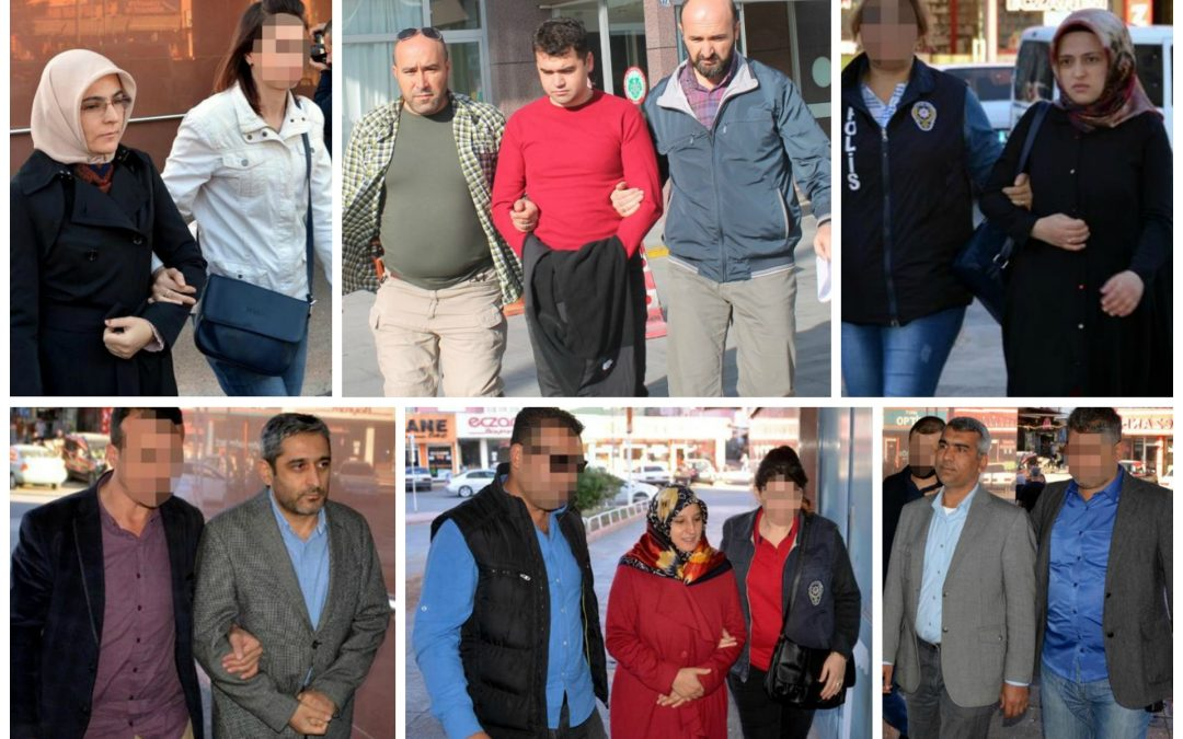 TURKEY PURGE IN PAST 48 HOURS: 160 arrested, 211 others detained over coup charges
