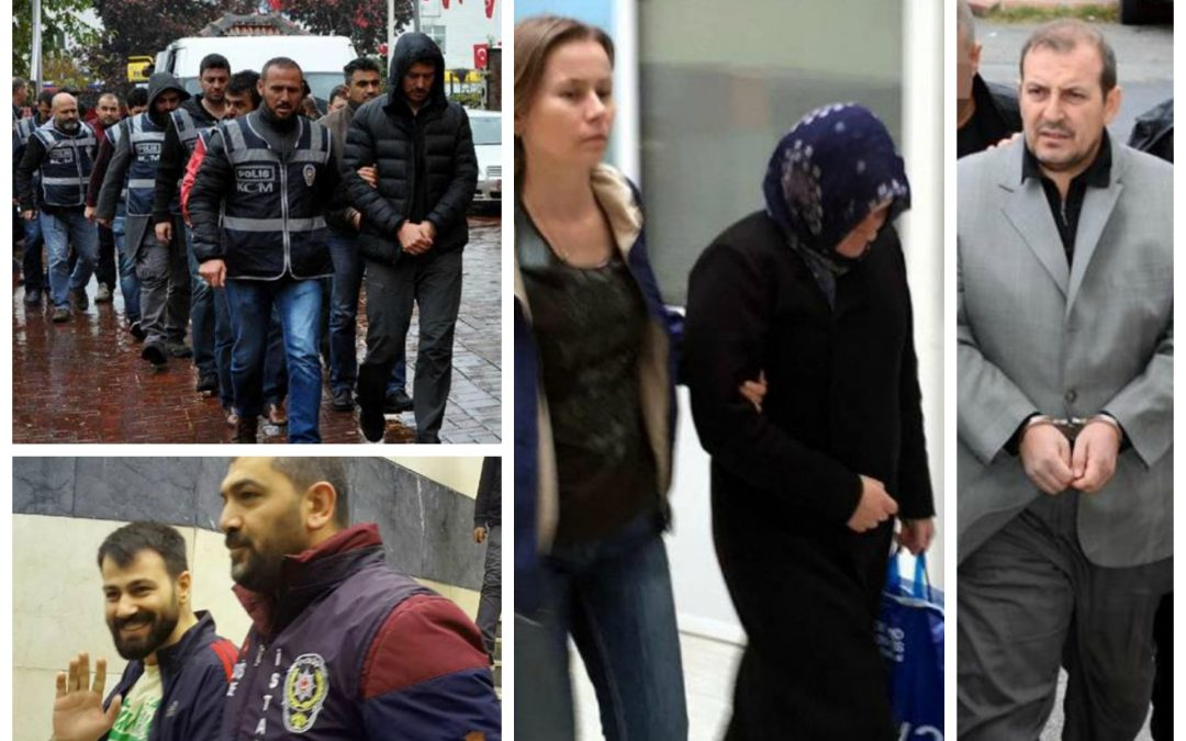 152 arrested, 153 others detained over coup charges on Tuesday