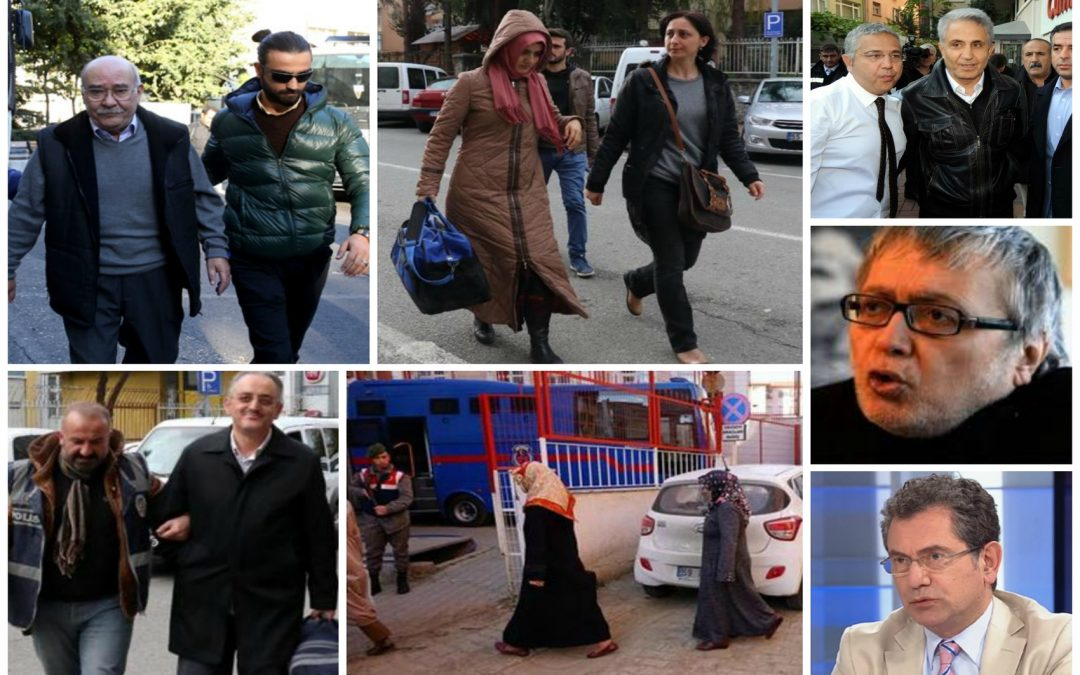 27 arrested, 150 others detained over alleged Gülen links on Monday