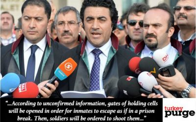 Lawyer urges int'l monitoring in Turkish prisons over staged riot claims