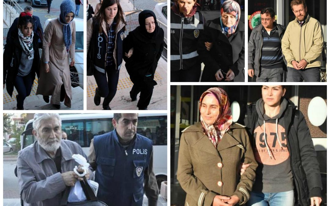 124 arrested, 113 others detained over coup charges on Thursday