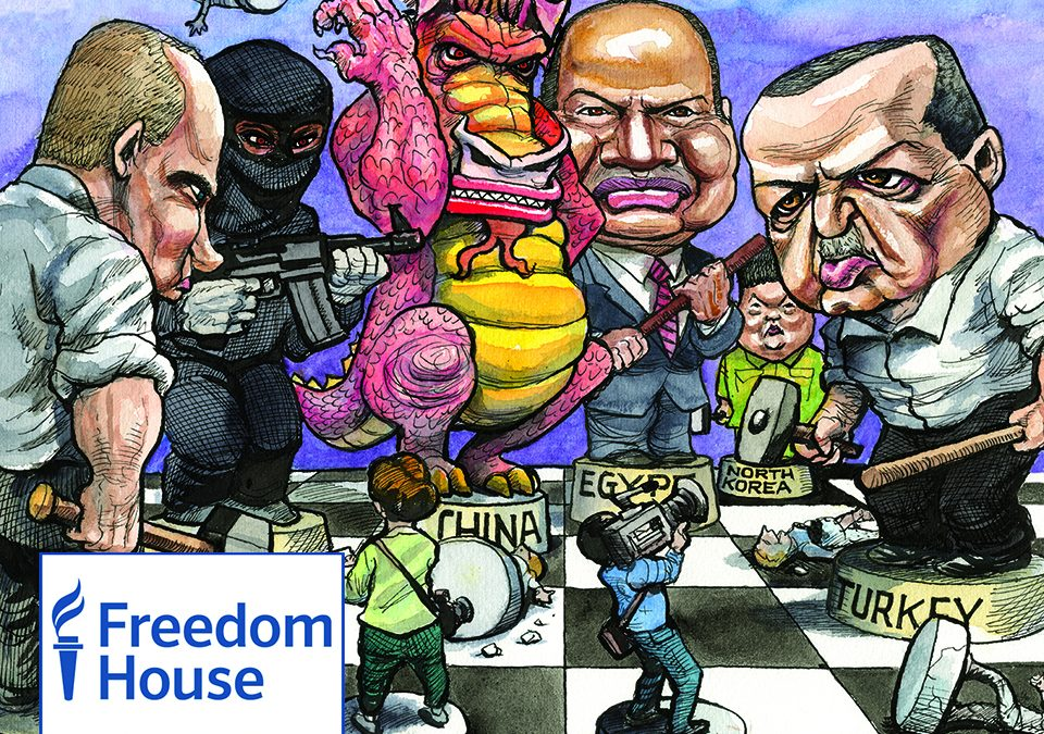 Freedom House: US should try to stop Turkey from becoming dictatorship