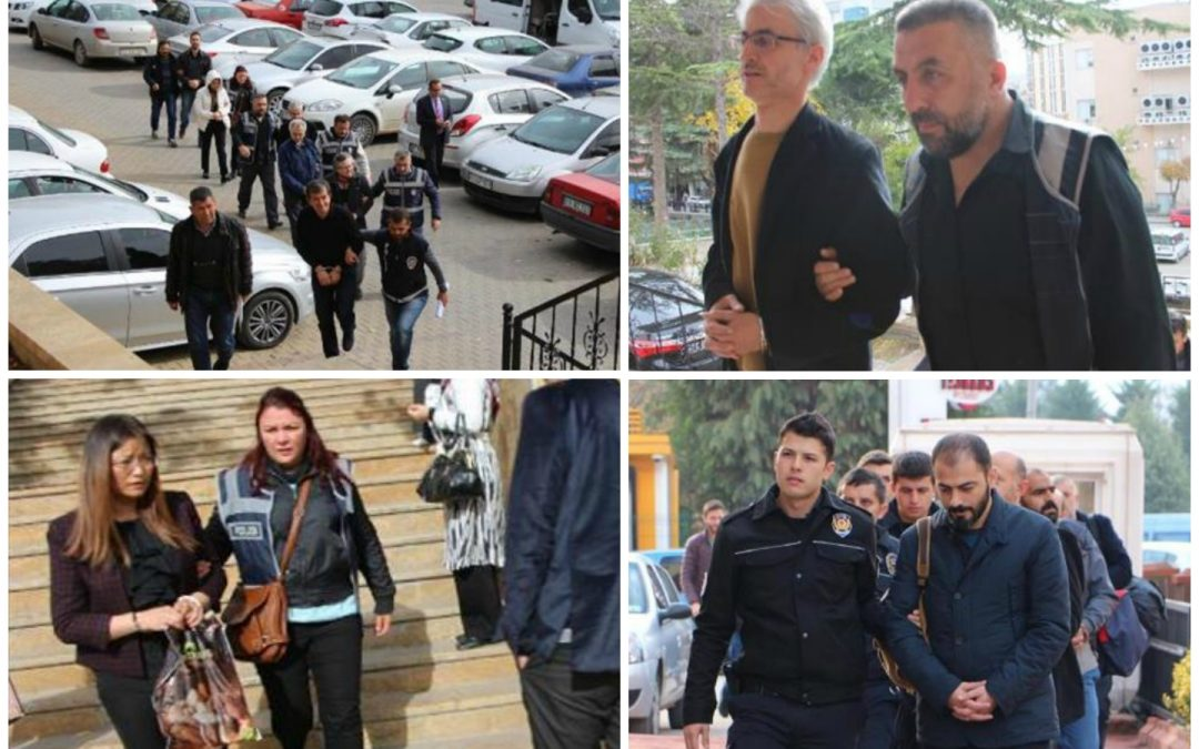 76 arrested, 138 others detained over coup charges on Monday