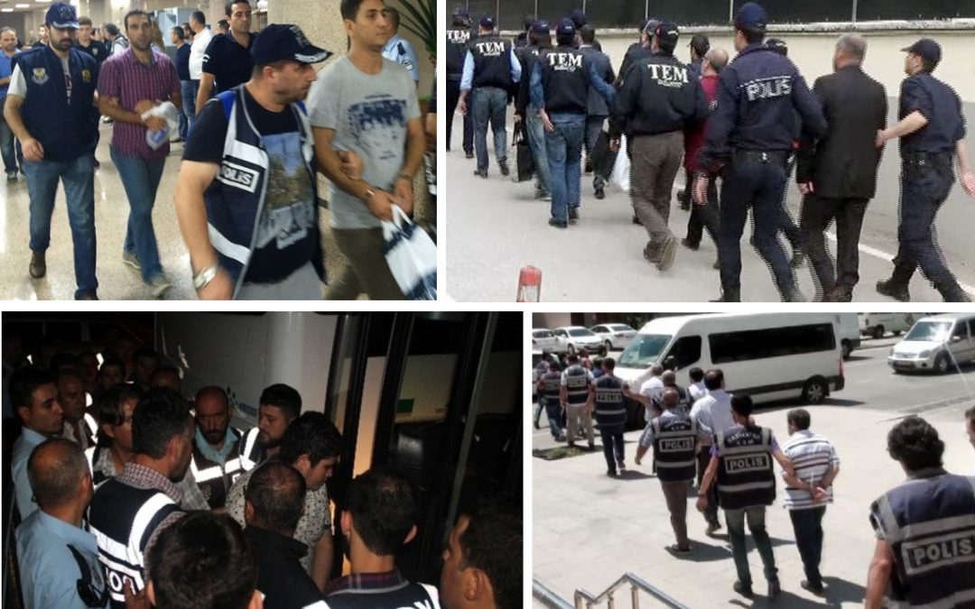 TURKEY PURGE IN PAST 48 HOURS: 98 arrested, 152 others detained over coup charges