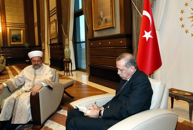 Turkey's Religious Directorate says profiled expats via mosques in 38 countries