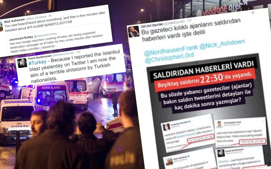 Turkey's foreign journalists become targets after reporting İstanbul attacks