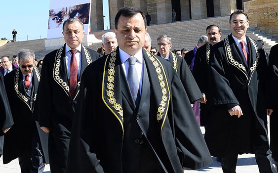 Turkey's top judge says justice does not require everyone be treated equally in every situation
