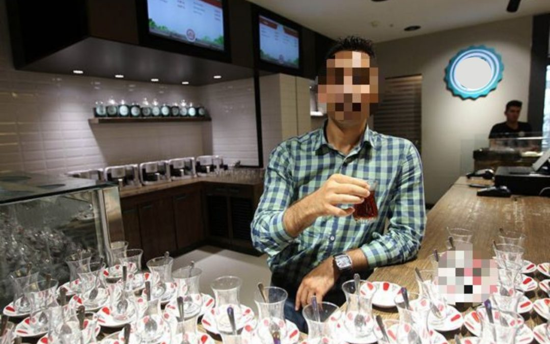 Tea-maker at Cumhuriyet daily headquarters jailed for 'insulting' Erdogan