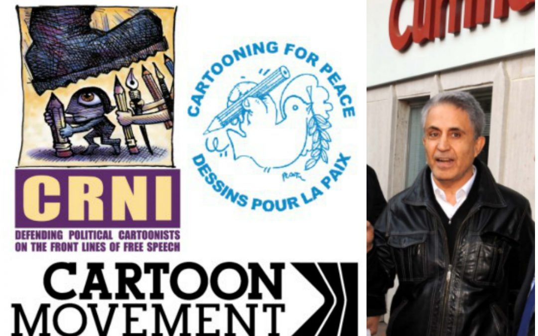 World's cartoonists call for release of imprisoned Turkish colleague