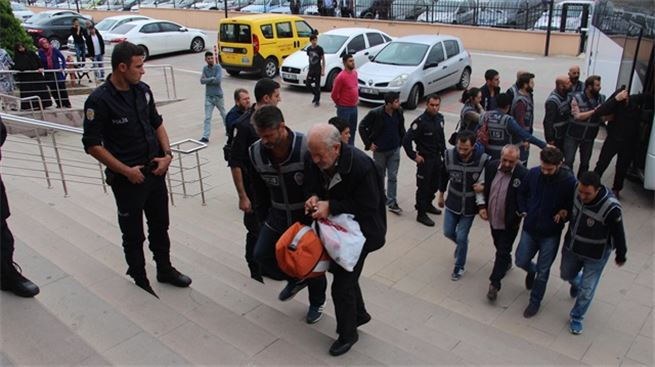 37 detained in simultaneous operations in 8 provinces over coup charges
