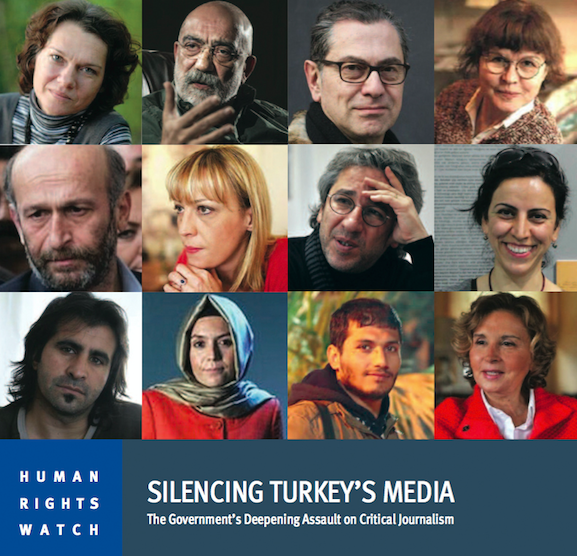 HRW report says gov't attacks on media shield Turkish state from scrutiny