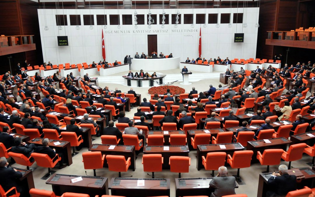 Turkish Parliament passes 5 gov't decrees, approves dismissal of thousands