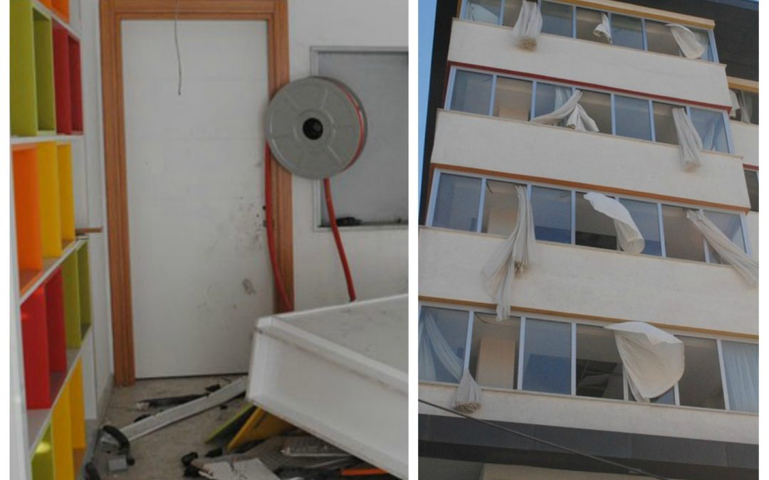 Seized Gülen dormitory ransacked by unknown thugs, becomes home to junkies