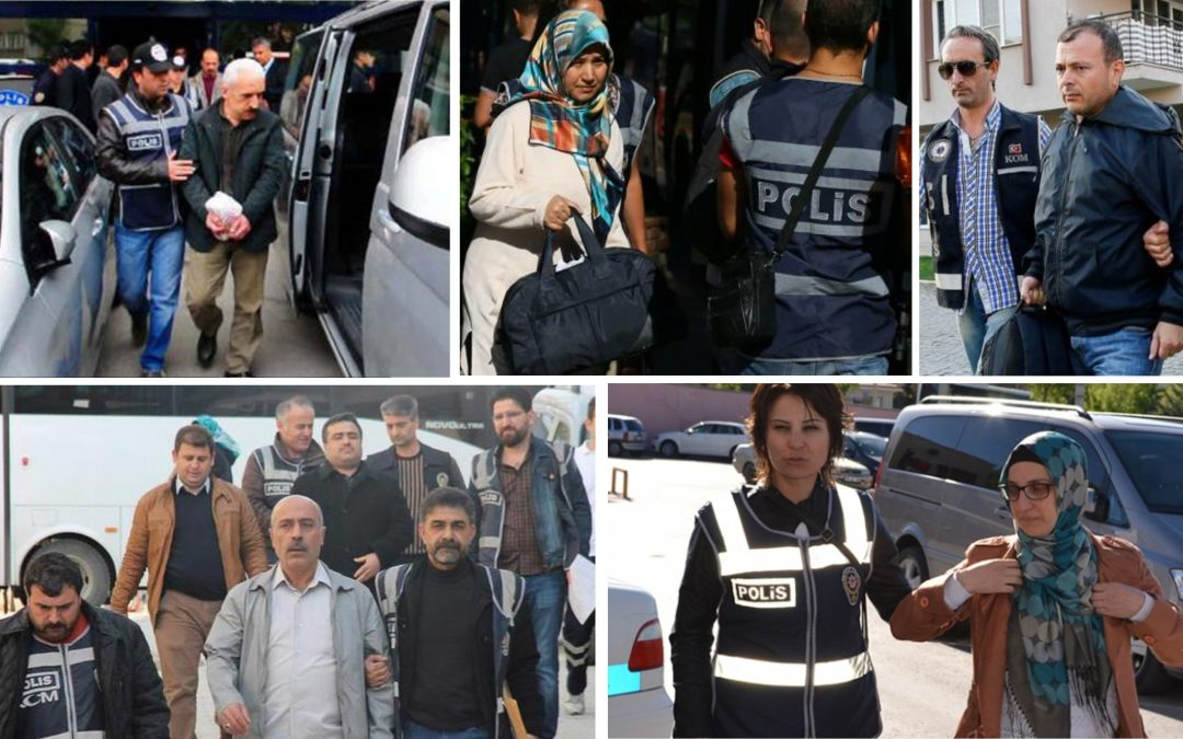 NO LET-UP IN TURKEY PURGE: 104 detained in Aydın, İstanbul, İzmir, Balıkesir, Denizli, Hatay, Bursa over alleged Gulen links
