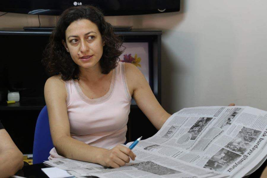 Imprisoned Turkish journalist on hunger strike for 16 days