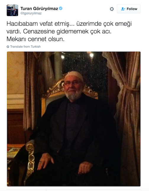 Another Turkish journalist loses father, unable to attend funeral due to gov't pressure