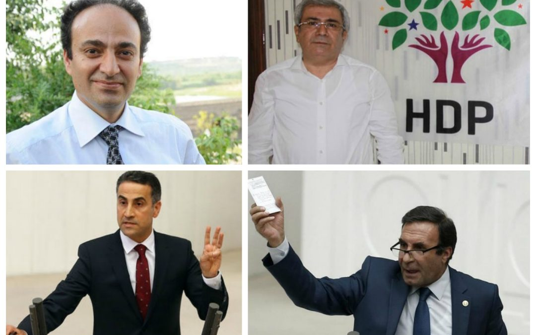 Four pro-Kurdish HDP deputies briefly detained
