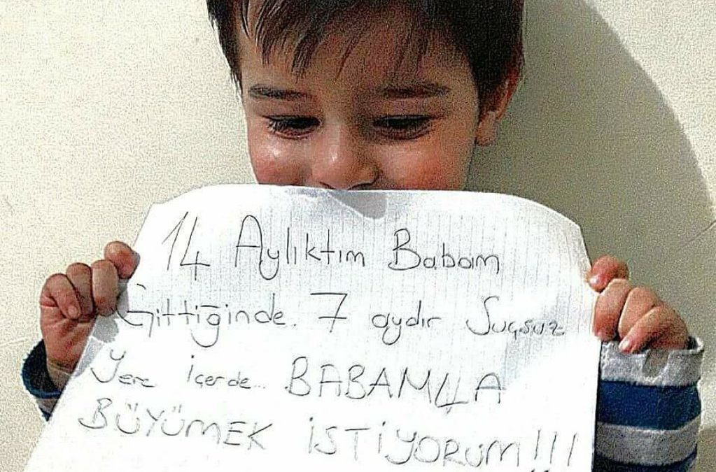 Little victims of Turkey's purge speak up: I was 14-month-old when dad was arrested