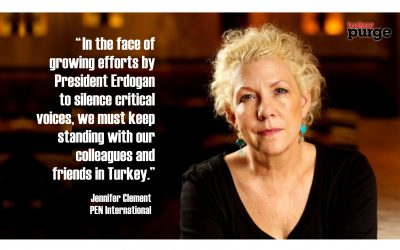 PEN president: We must stand against efforts to silence critical voices in Turkey