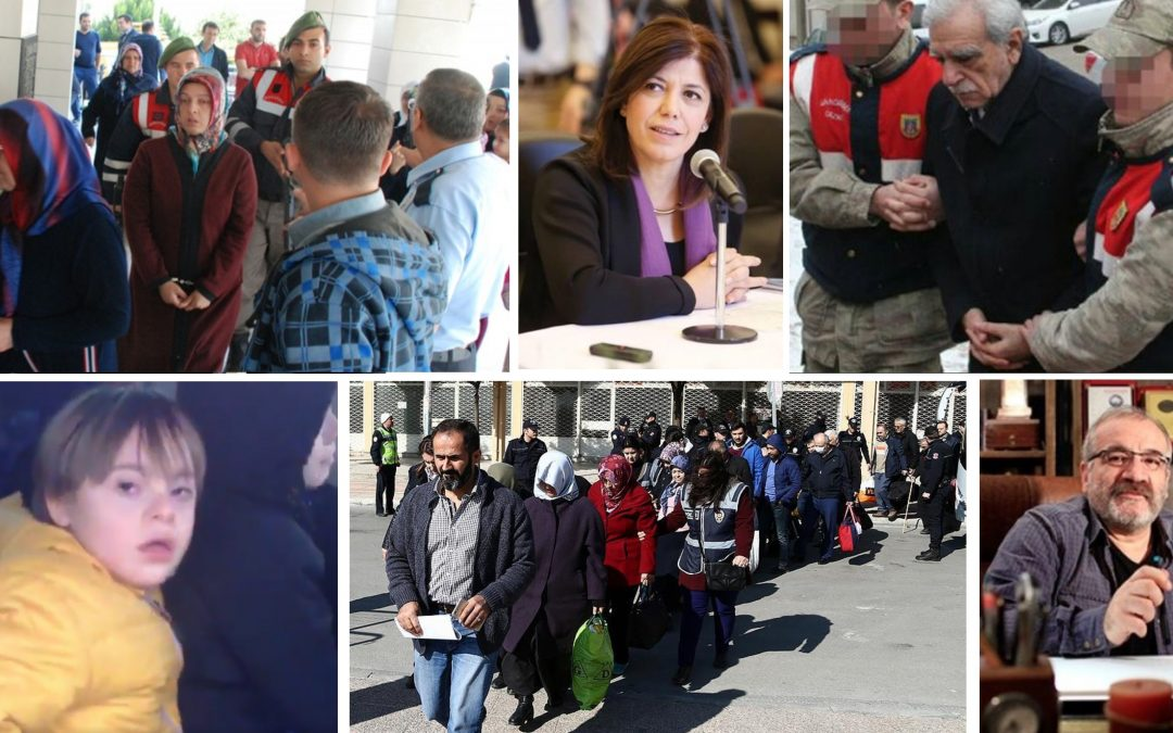 PURGE IN PAST 10 DAYS: 1,325 detained, 652 arrested in post-coup operations