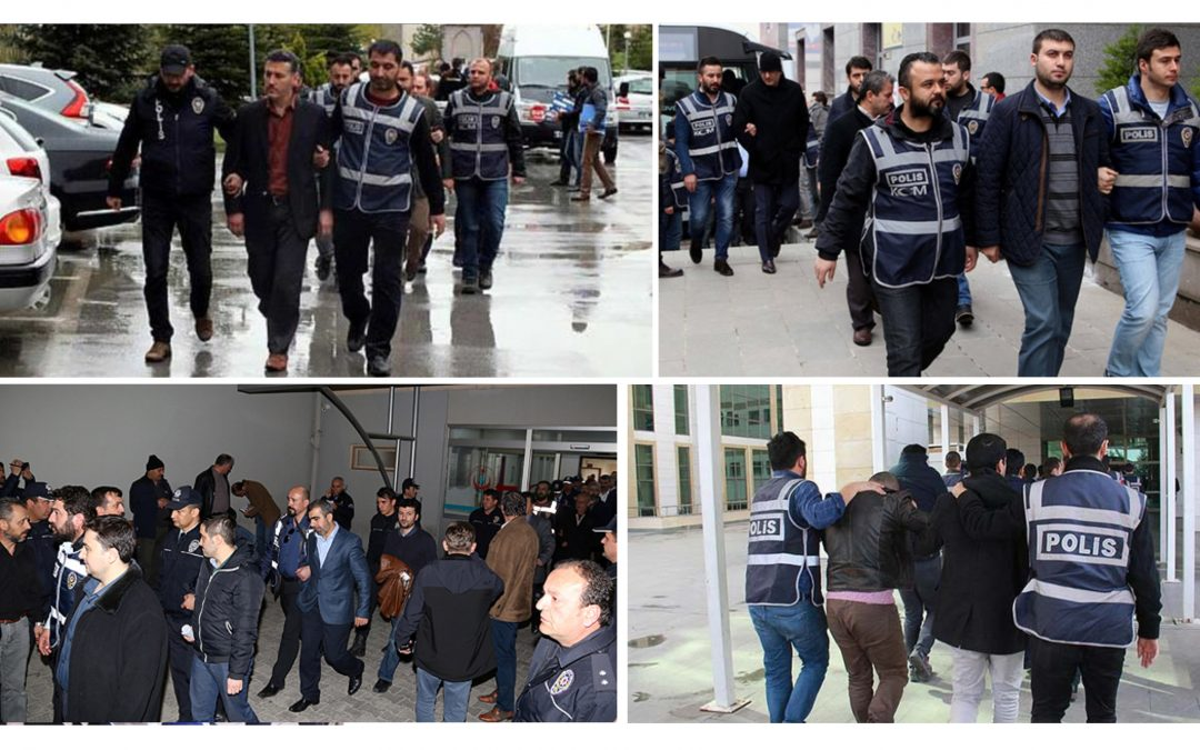 NO LET-UP IN TURKEY PURGE: 137 detained in İzmir, Bolu, Malatya, Giresun, Ağrı, Eskişehir over alleged Gulen links