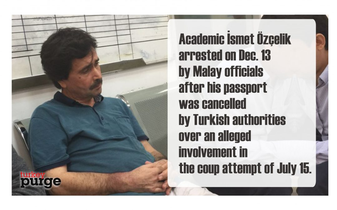 Turkish academic in Malay jail for weeks at Turkey's request
