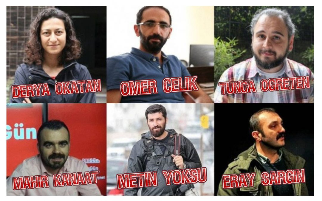 Police keep 6 journalists under custody for 23 days