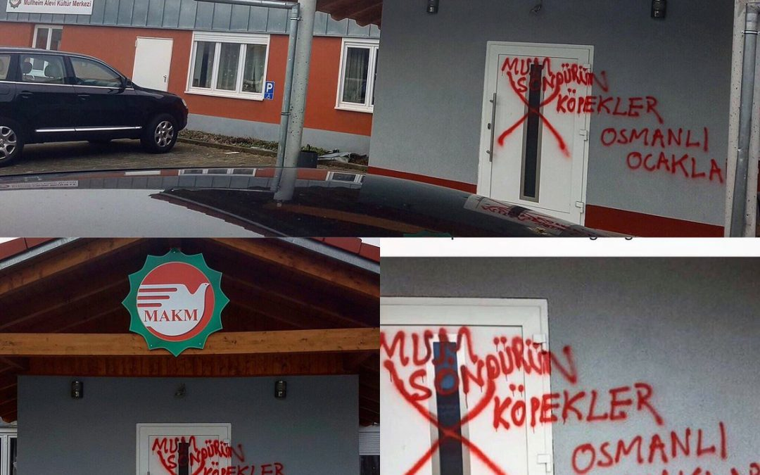 Alevi cultural center in Germany attacked by ultranationalist group