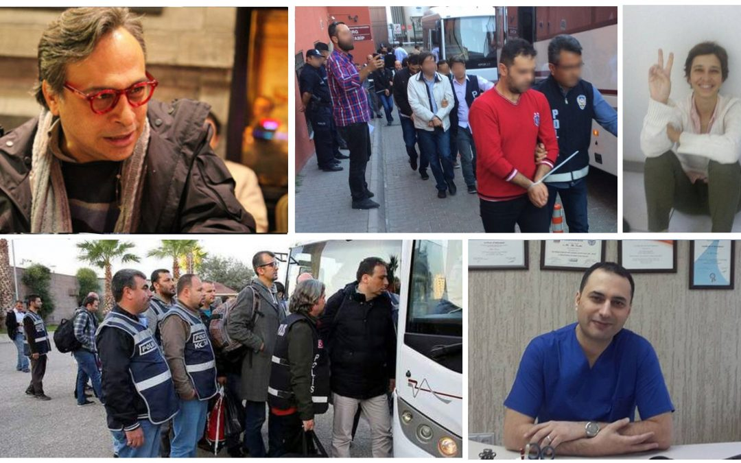 TURKEY PURGE IN PAST 8 DAYS: 8K dismissed, 451 arrested, 889 others detained over coup charges