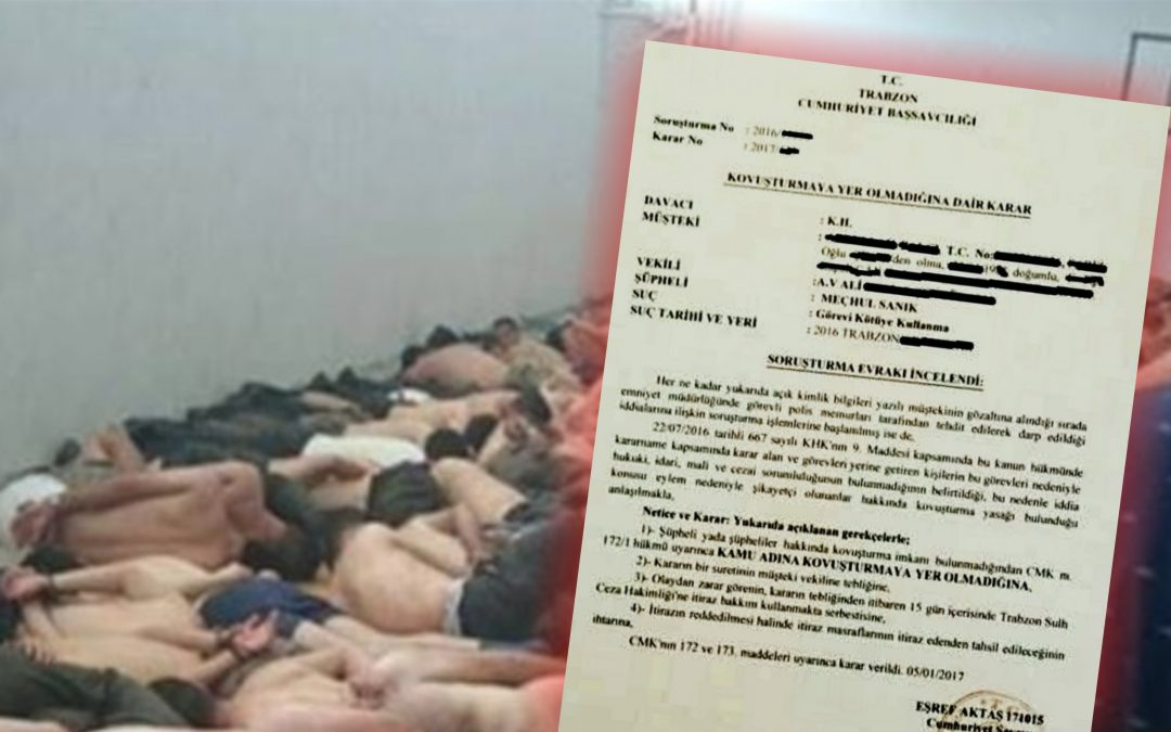 Prosecutor drops torture complaint due to impunity under state of emergency