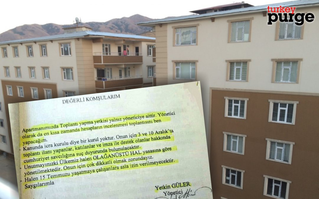 In Turkey, even apartment managers declare 'state of emergency'