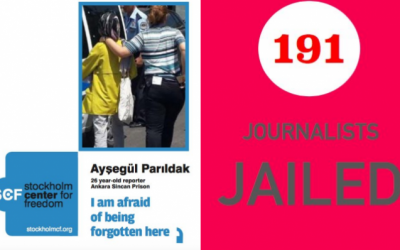 SCF Report: 191 journalists jailed, 92 wanted, 839 charged