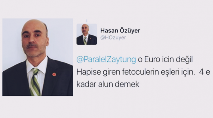 Turkish gov't official advises ruling party supporters to have polygamous marriages with wives of jailed Gülenists