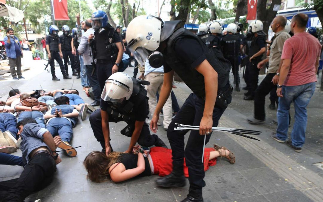 Turkish gov't temporarily bans all protest activities in capital Ankara