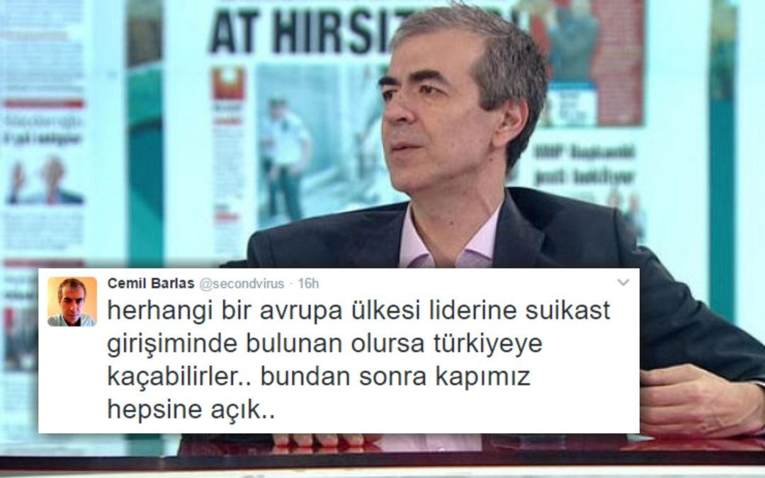 Pro-gov't political commentator calls on assassins to take refuge in Turkey