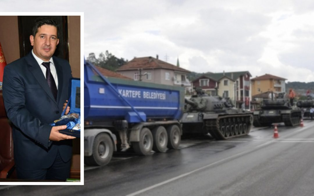 Police chief who stopped putschist tanks in Sakarya suspended