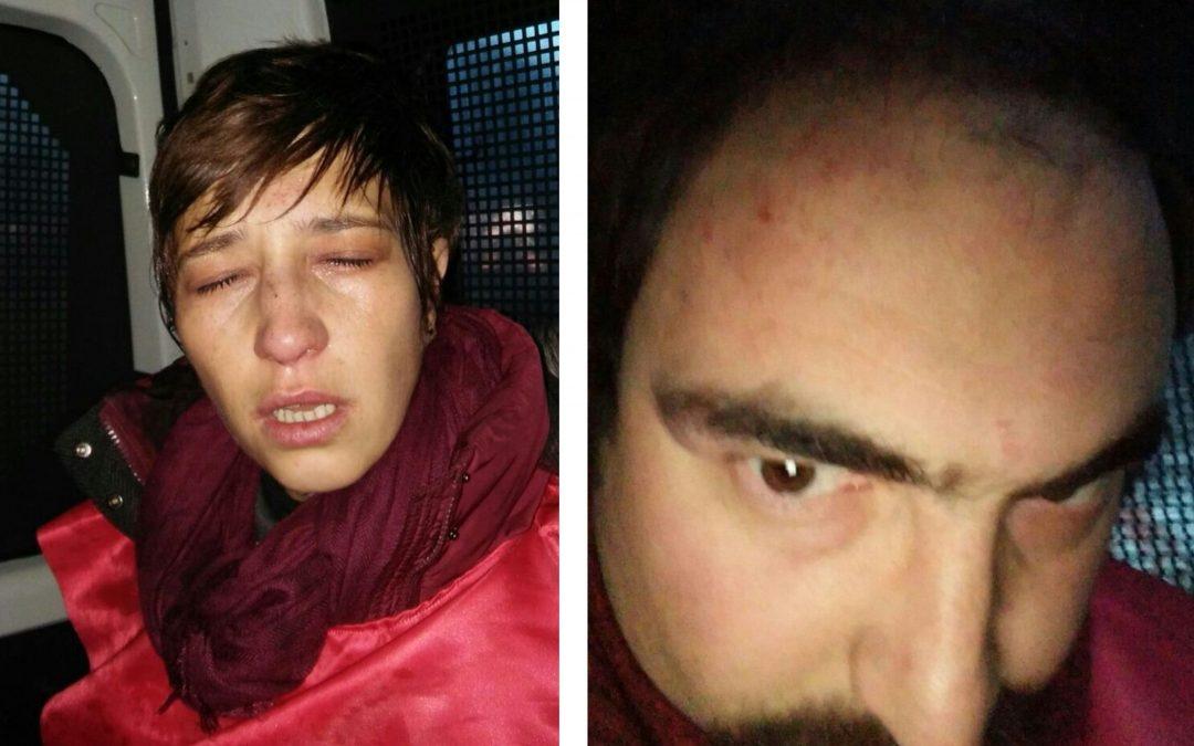 Dismissed academics beaten, detained by police after protest