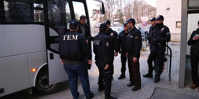 38 police officers detained over alleged coup involvement in Kars
