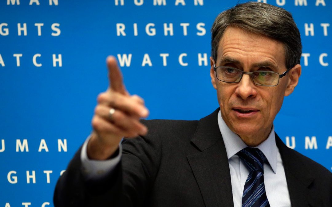 HRW's Roth: Turkey's Erdogan, Egypt's Sisi violate human rights to great extremes