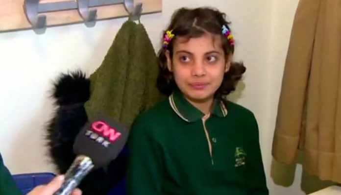 [VIDEO] Turkish schoolgirl: I want to be president, so I can reinstate death penalty