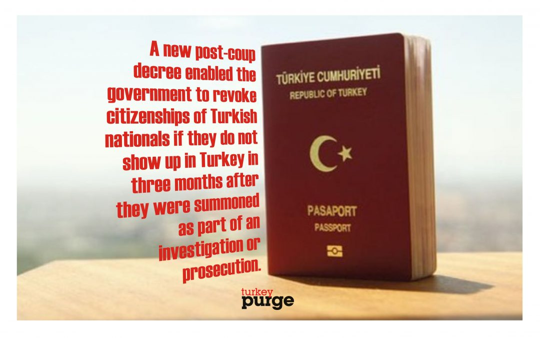 Turkish expats to lose citizenship if they fail to return back when summoned