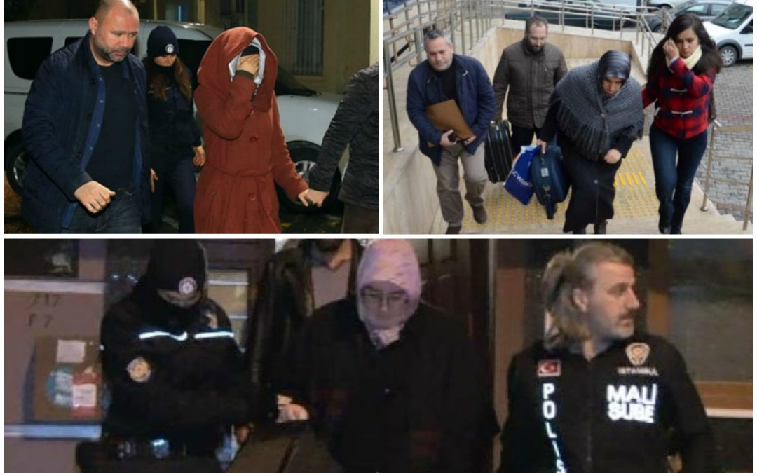 55 women detained over coup charges