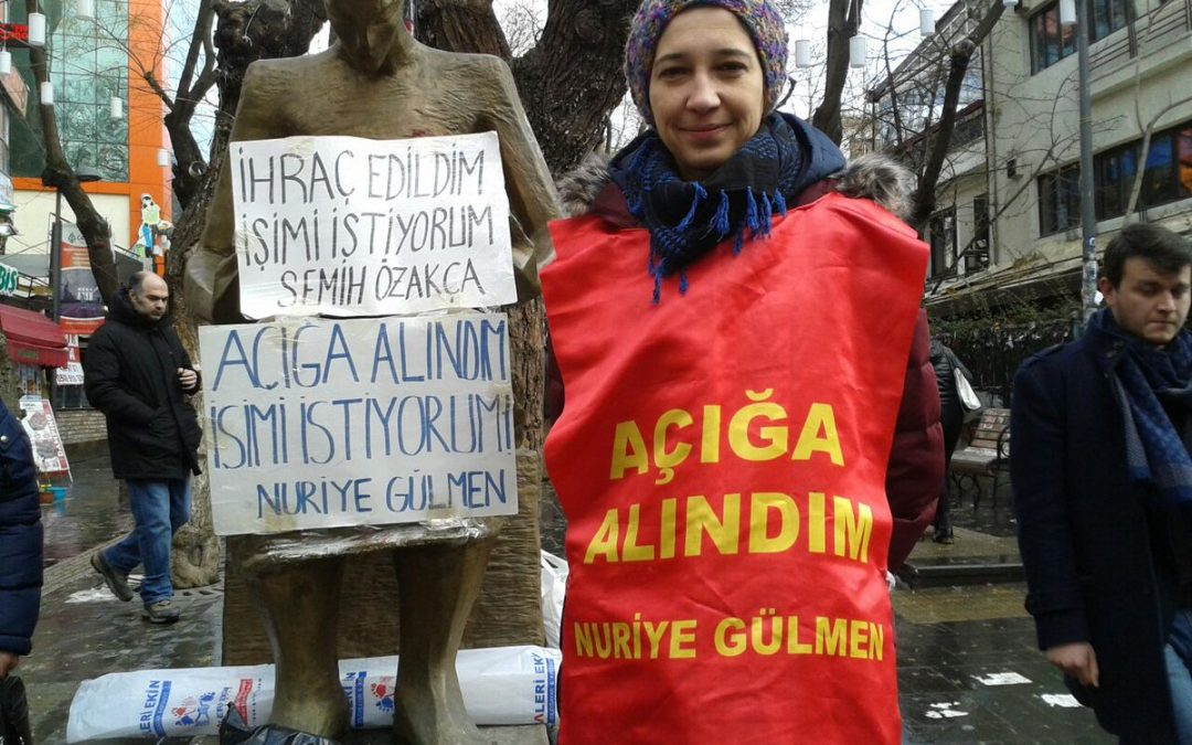 Persistent academic protester among dismissed in new gov't decree