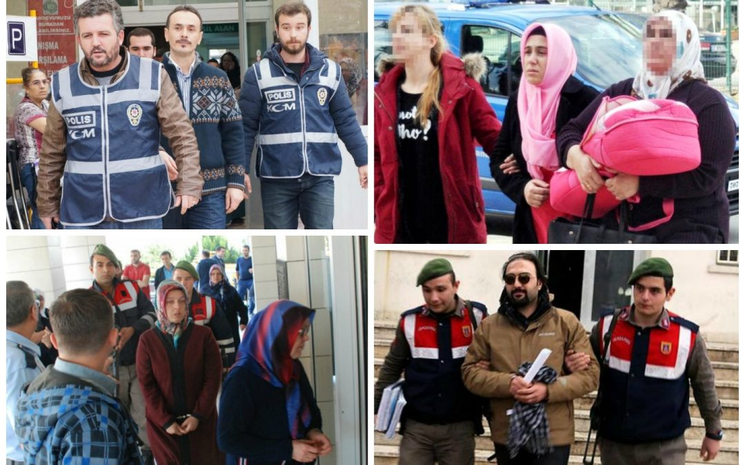 625 detained, 42 arrested in anti-Gülen operations in past week